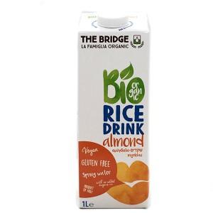 משקה אורז אורגני בתוספת שקדים 1 ליטר – Bio מבצע 2 ב-20 ש״ח