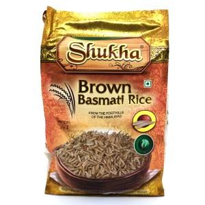 אורז בסמטי חום 1 ק״ג – שוקחה