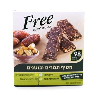 חטיף תמרים ובוטנים Free – מבצע 2 ב-34 ש״ח