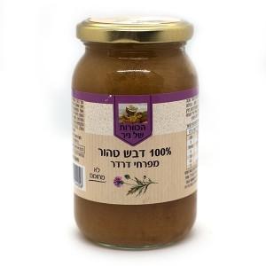 דבש טהור מפרחי דרדר 500 גרם – הכוורת של ניר