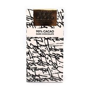 טבלת שוקולד מריר 90% קקאו – Holy Cacao