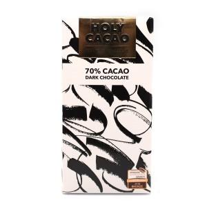 טבלת שוקולד מריר 70% קקאו – Holy Cacao