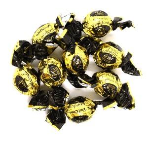 פרלינים שחור זהב – שוקולד מריר 70%
