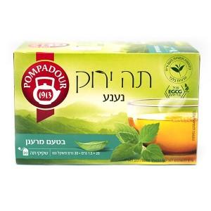 תה ירוק נענע בטעם מרענן Pompadour