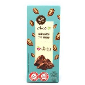 טבלה בטעם שוקולד חלב (טבעוני) – רפאלס