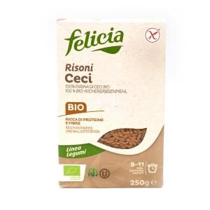 100% חומוס אורגני בצורת אורז Felicia