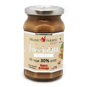 ממרח 30% אגוזי לוז (לבן) – Nocciolata