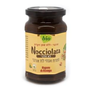 ממרח אגוזי לוז אורגני – Nocciolata