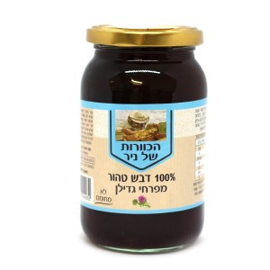 דבש טהור מפרחי גדילן 500 גרם – הכוורת של ניר