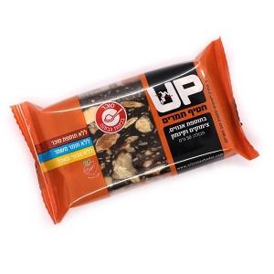 חטיף תמרים UP בתוספת אגוזים, צימוקים וקינמון – 50 גרם