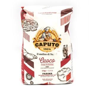 קמח חיטה לבן פיצה שף 1 ק״ג (אדום) Caputo