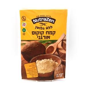 קמח קוקוס אורגני ללא גלוטן 500 גרם – Naturazen