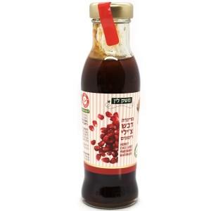מרינדה דבש צ'ילי רימונים – משק לין