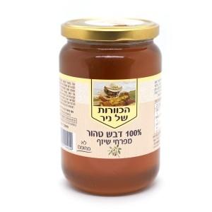 דבש טהור מפרחי שיזף 1 ק״ג – הכוורת של ניר