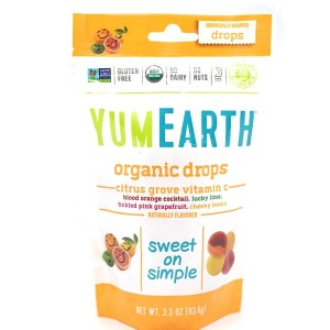 סוכריות אורגניות קשות – בטעם תפוז, ליים, אשכולית אדומה ולימון