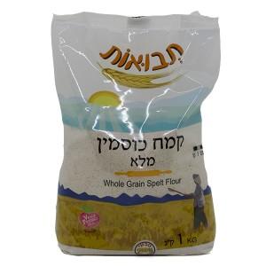 קמח כוסמין מלא 1 ק״ג – תבואות