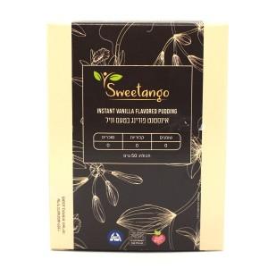 אינסטנט פודינג בטעם וניל Sweetango