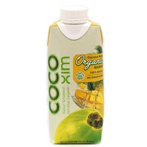 משקה קוקוס אורגניים עם מנגו