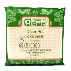 דפי אורז מרובעים – Taste of Asia