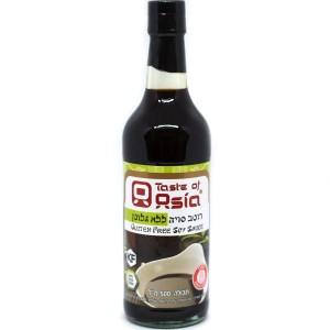 רוטב סויה ללא גלוטן 500 מ״ל – Taste of Asia