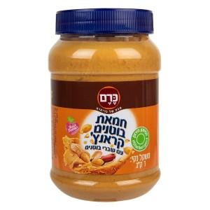 חמאת בוטנים קראנץ׳ 1 ק״ג – הכרם