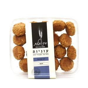 עוגיות טחינה ואגוזי לוז ללא סוכר (טבעוני) – דני וגלית 2 ב-50 ש״ח