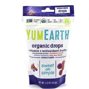 סוכריות אורגניות קשות – בטעמי פירות (סגול)