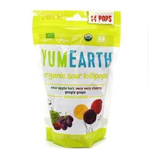 סוכריות אורגניות קשות על מקל – פירות חמוצים