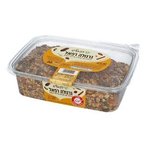 גרנולה עם אגוזים ופירות יבשים 800 גרם – רפאל׳ס