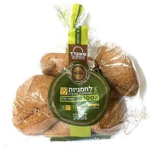 לחמניות ממחמצת טבעית 100% קמח כוסמין מלא – טאוברד
