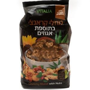 מוזלי קראנצ׳י Vitalia – בתוספת אגוזים