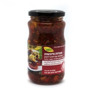 ממרח עגבניות מיובשות עם זיתים – תומר