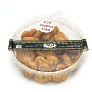 עוגיות אוזני פיל ללא תוספת סוכר (נעמה) – 2 יח׳ ב- 40 ש״ח