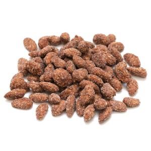 שקד קלוי מצופה קוקוס וקינמון – 200 גרם