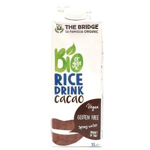 משקה על בסיס אורז אורגני בטעם שוקו ללא גלוטן 1 ליטר – Bio