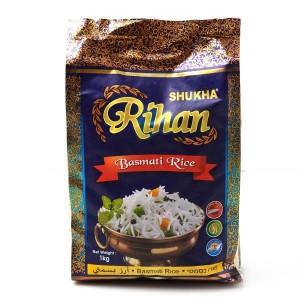 אורז בסמטי ארוז 1 ק״ג – שוקחה
