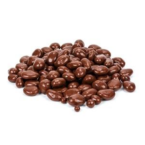 שקד מצופה שוקולד חלב