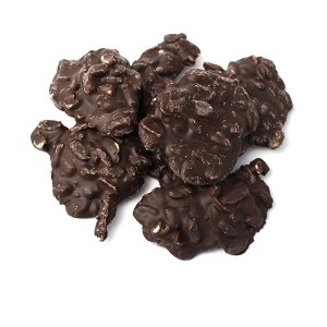 בוטנים מצופים שוקולד (פרווה)