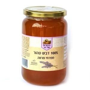 דבש טהור מפרחי מרווה 1 ק״ג – הכוורת של ניר
