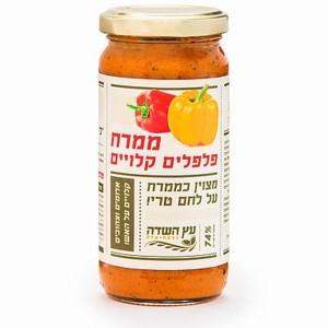 ממרח פלפלים קלויים – עץ השדה – 2 יח׳ ב-35 ש״ח