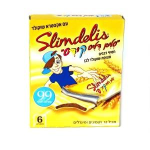 חטיף דגנים מצופה שוקולד לבן Kids – סלים דליס