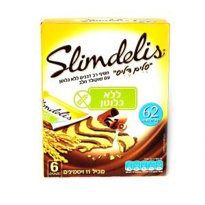 חטיף רב דגנים ללא גלוטן עם שוקולד חלב – סלים דליס