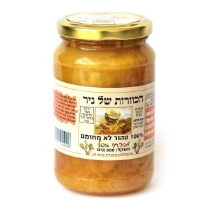 דבש טהור מפרחי אשל 500 גרם – הכוורת של ניר