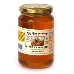 דבש טהור מפרחי הדרים 500 גרם – הכוורת של ניר