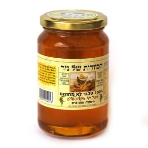 דבש טהור מפרחי אקליפטוס 500 גרם – הכוורת של ניר