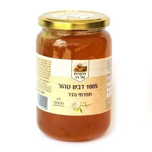 דבש טהור מפרחי הדר 1 ק״ג – הכוורת של ניר