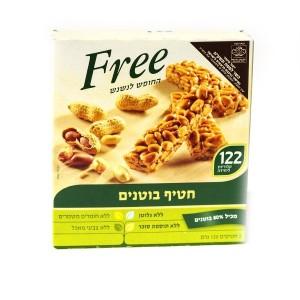 """חטיף בוטנים Free – מבצע 2 יח׳ ב- 34 ש""""ח"""